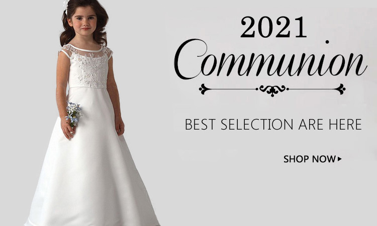 2021 girls first Communion Dresses