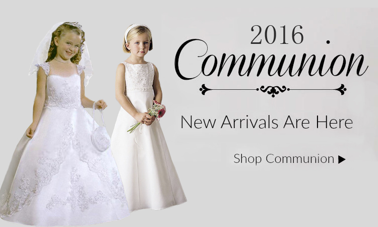 2016 first Communion Dresses