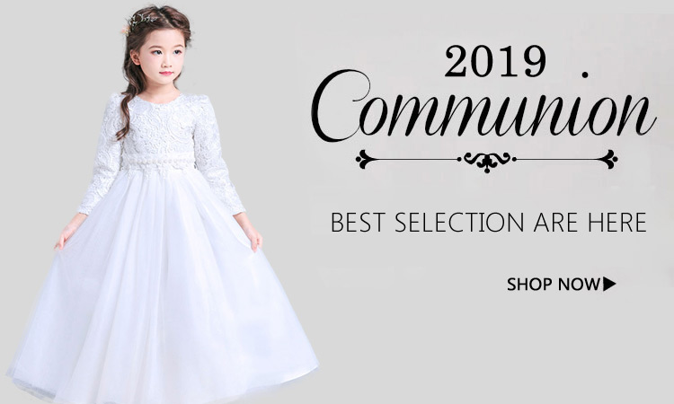 2018 girls first Communion Dresses