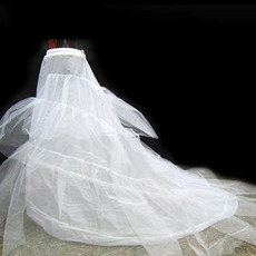 Cheap Nylon / Tulle Chapel Train Wedding Petticoats