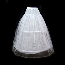 Affordable Nylon / Tulle Floor Length Wedding Petticoats