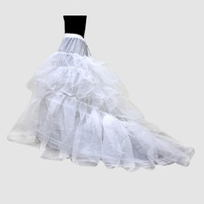 Inexpensive Nylon / Tulle Floor Length Wedding Petticoat