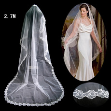 1 Layer Cathedral Length Wedding Veil
