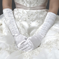 Stain Elbow Wedding Glove