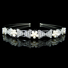 Timeless Alloy With Flower Bridal Wedding Tiara