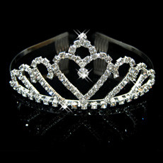 Free style Alloy With Rhinestone Bridal Wedding Tiara