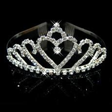 Free style Alloy With Rhinestone Bridal Wedding Tiara