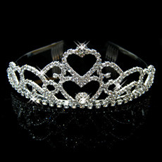 Stylish Alloy With Rhinestone Bridal Wedding Tiara