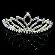 Nice Alloy With Rhinestone Bridal Wedding Tiara