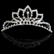 Sexy Alloy With Rhinestone Bridal Wedding Tiara