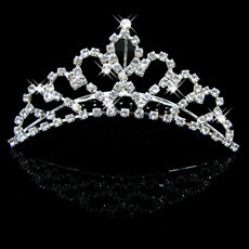 Fahionable Alloy With Rhinestone Bridal Wedding Tiara