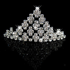 Discount Alloy With Rhinestone Bridal Wedding Tiara