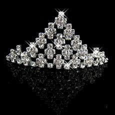 Discount Alloy With Rhinestone Bridal Wedding Tiara
