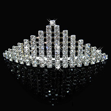 Gentlewomenly Alloy With Rhinestone Bridal Wedding Tiara