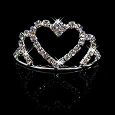 Ladylike Alloy With Rhinestone Bridal Wedding Tiara