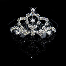 Affordable Alloy With Rhinestone Bridal Wedding Tiara