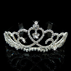 Beautiful Alloy With Rhinestone Bridal Wedding Tiara