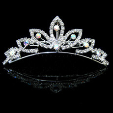 Popular Alloy With Rhinestone Bridal Wedding Tiara