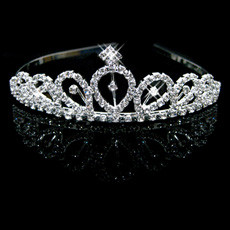 Newest Alloy With Rhinestone Bridal Wedding Tiara