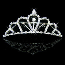 Spring Alloy With Rhinestone Bridal Wedding Tiara