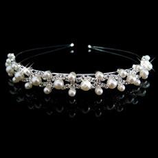 Beautiful and elegant Alloy With Pearl Bridal Wedding Tiara