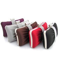 Nice Satin Evening Handbags/ Clutches/ Purses with Rhinestone