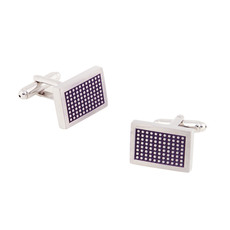 Stylish Rectangle Mens' Cufflinks for Party/ Wedding/ Business