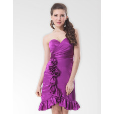Affordable Sexy Sheath/ Column Sweetheart Short Homecoming/ Party Dresses