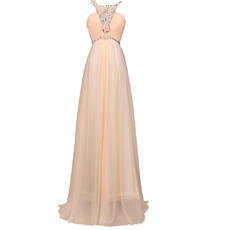 2017 Style Elegant Chiffon Evening/ Prom Dresses with Spaghetti Straps