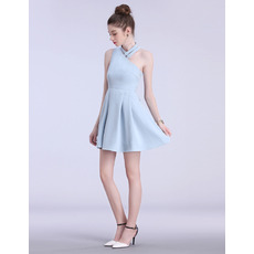 Simple Chic Asymmetric One Shoulder Short Cocktail Homecoming Dresses