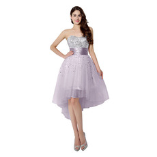 Beautiful Sweetheart High-Low Short Homecoming/ Cocktail Dresses for Juniors