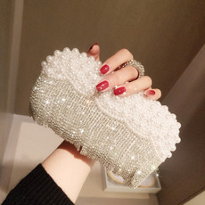 Noble Fashion Crystal Beaded Wedding Evening Bridal Party Evening Handbags/ Purses/ Clutches