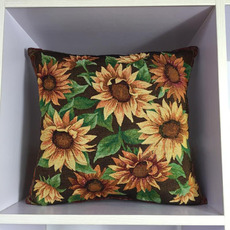 Pillowcase Sunflower Decorative 16