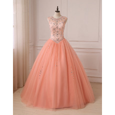 2019 New Style Ball Gown Floor Length Prom/ Quinceanera Dresses