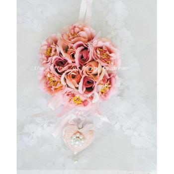 Beautiful Elegant Silk Bridal Wrist Flower
