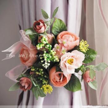 Beautiful Elegant Fantasy Pastoral Silk Blossom Garland