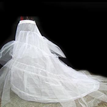 Cheap Nylon / Tulle Chapel Train Wedding Petticoats