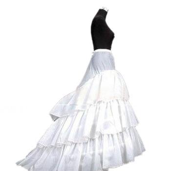 Affordable 3 Bone Hoop Tulle Wedding Petticoats