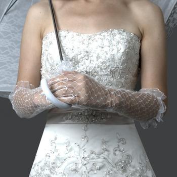 Voile Elbow Wedding Glove