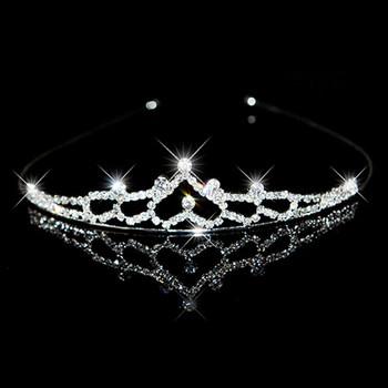 Beautiful Alloy With Rhinestone Bridal Wedding Tiara