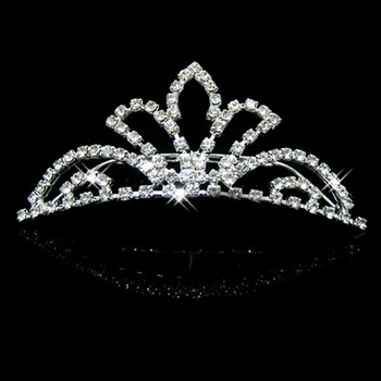 Unique Alloy With Rhinestone Bridal Wedding Tiara