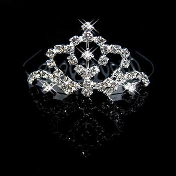 Affordable Alloy With Rhinestone Bridal Wedding Tiara