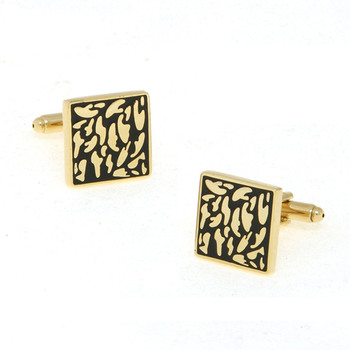 Square Tuxedo Shirt Cuffllinks for Wedding/ Business with Gift Box