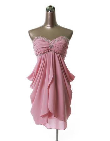 Discount Sexy Empire Sweetheart Short Chiffon Homecoming Dresses