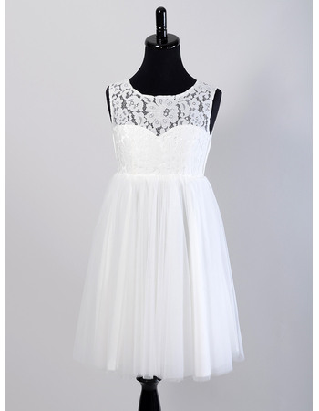 Discount Summer Empire Lace Tulle Maternity Wedding Dresses/ Simple Reception Knee Length Bride Gowns Pleated Skirt