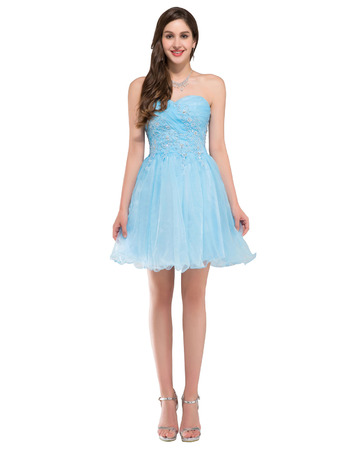Affordable Sweetheart Mini/ Short Homecoming/ Sweet Sixteen Dresses for Juniors
