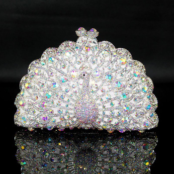 Gorgeous All Jewel Crystal Rhinestone Evening Party Handbags/ Purses/ Clutches