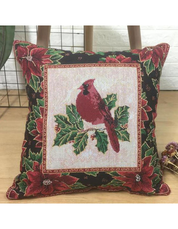 Affordable Pillowcase Red Bird Decorative 18