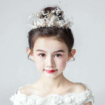 Cute Flower Girl Hairband Headband Hair Accessory for Wedding