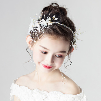 Flower Girl Hoop Headband Hairband Hair Accessory for Wedding